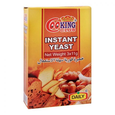 Cooking Club Instant Yeast, 33g