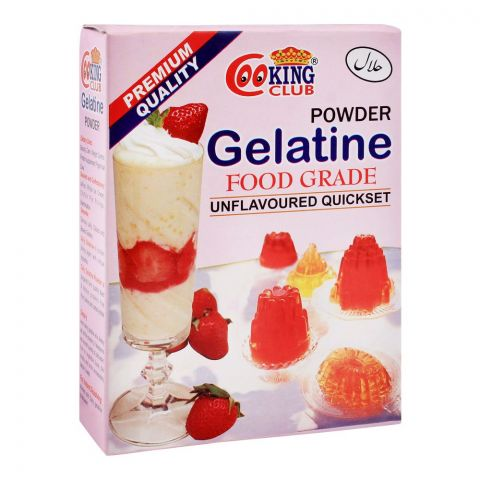 Cooking Club Gelatine Powder, Food Grade,80g