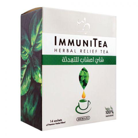 Hemani Immuni Herbal Relief Tea, 14-Pack