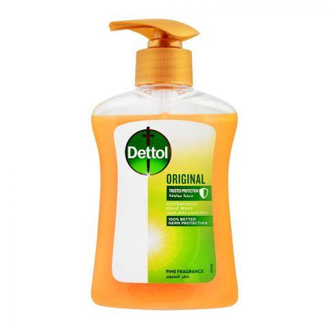 Dettol Original Anti-Bacterial Pine Fragrance Hand Wash, 200ml
