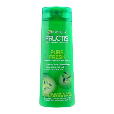 Garnier Fructis Pure Fresh Straightening Shampoo, 400ml