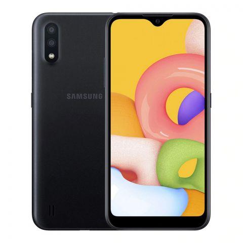 Samsung Galaxy A01 2GB/16GB Smartphone, Black