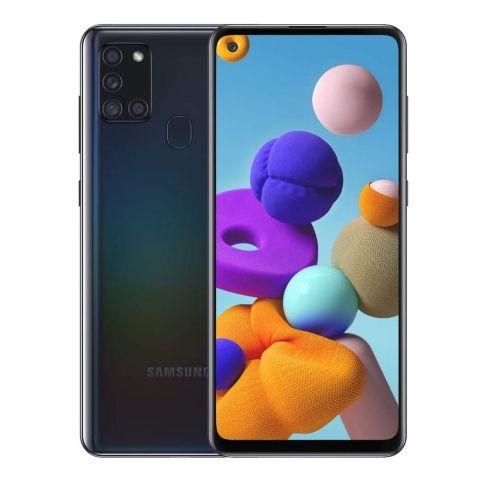 Samsung Galaxy A21S 4GB/64GB Smartphone, Black, SM-A217F
