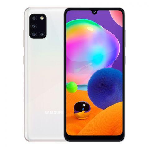 Samsung Galaxy A31 4GB/128GB Smartphone, White, SM-A315F