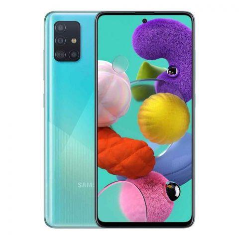 Samsung Galaxy A71 8GB/128GB Prism Crush Blue Smartphone, SM-A715F/DS
