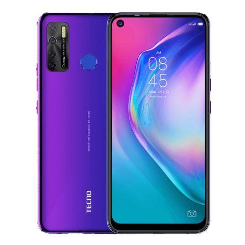 Tecno Camon 15 4GB/128GB Fascinating Purple Smartphone