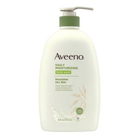 Aveeno Daily Moisturising Body Wash, Lightly Scented, 975ml