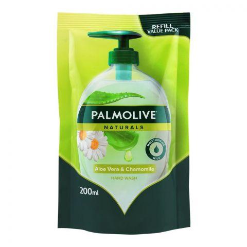 Palmolive Naturals Aloe Vera & Chamomile Hand Wash, Refill, 200ml