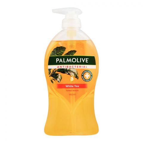 Palmolive Antibacterial White Tea Hand Wash, 450ml