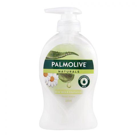 Palmolive Naturals Aloe Vera & Chamomile Hand Wash, 225ml
