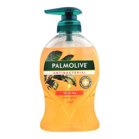 Palmolive Antibacterial White Tea Hand Wash, 225ml
