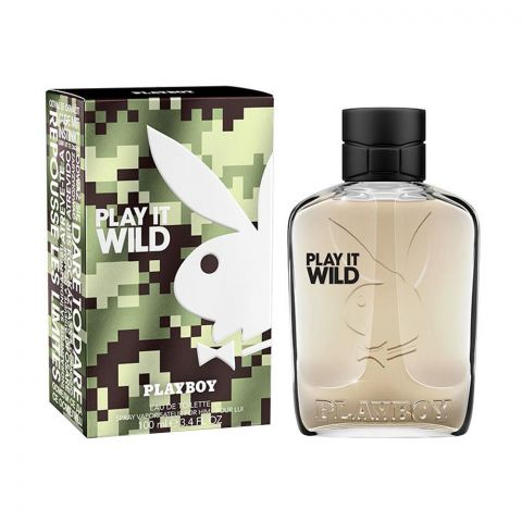 Playboy Play It Wild Eau De Toilette, Fragrance For Men, 100ml