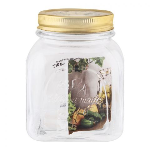 Pasabahce Home Made Metal Cover Jar, Small, 80384