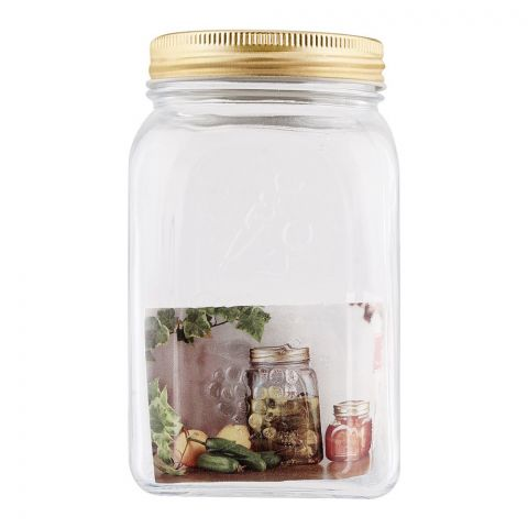Pasabahce Home Made Metal Jar, Medium, 80385