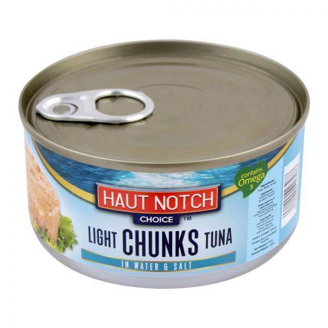 Haut Notch Light Chunks Tuna In Water & Salt, 170g