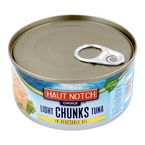Haut Notch Light Chunks Tuna In Vegetable Oil, 170g