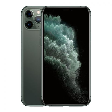 Apple iPhone 11 Pro Max, 64GB, Midnight Green