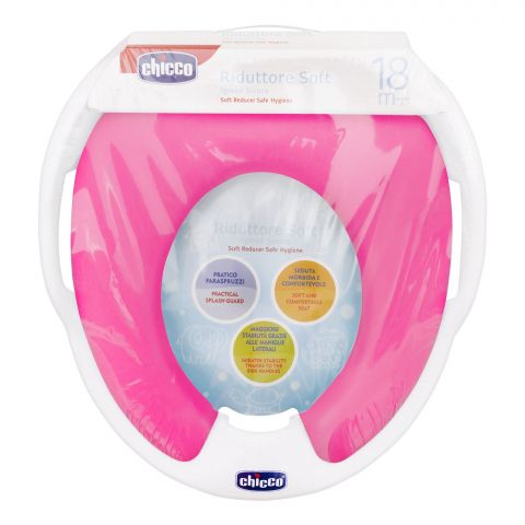 Chicco Baby Toilet Trainer Cover, 18m+, Pink, 67005
