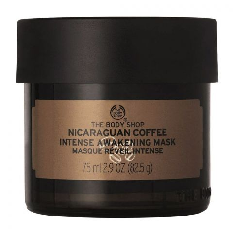 The Body Shop Nicaraguan Coffee Intense Awakening Facial Mask, 15ml