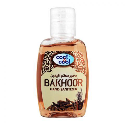 Cool & Cool Bakhoor Hand Sanitizer, 60ml
