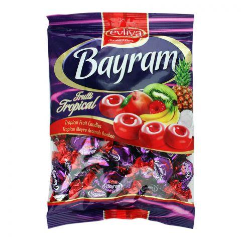 Evliya Bayram Tropical Fruit Candy, 350g Pouch