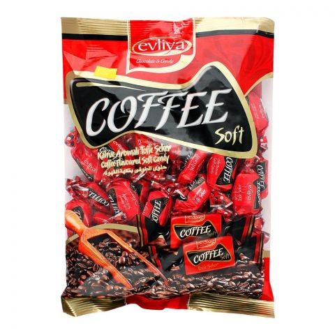 Evliya Coffee Soft Candy, 350g Pouch