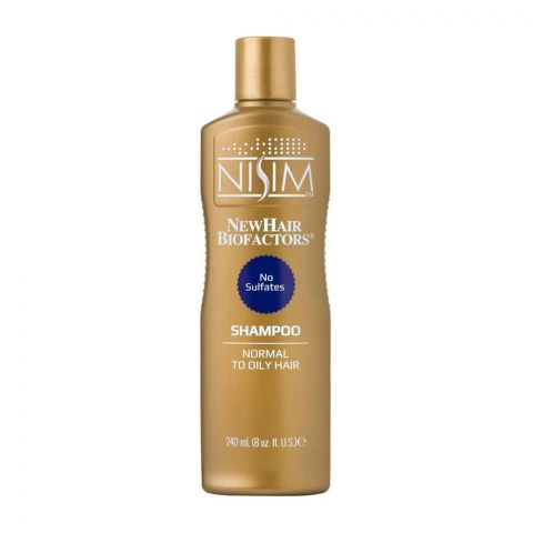 Nisim Normal To Oil Hair Shampoo, Sulfate Free, 240ml