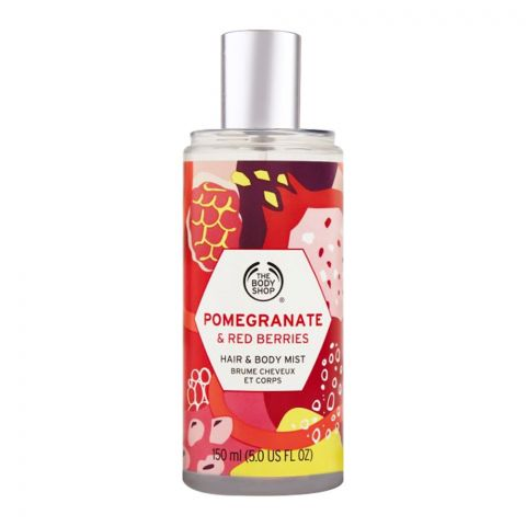 The Body Shop Pomegranate & Red Berries Hair & Body Mist 150ml