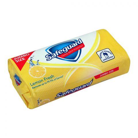 Safeguard Lemon Fresh Soap, Jumbo Size, 175g