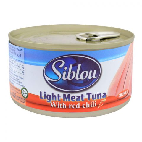 Siblou Light Meat Tuna Chunka With Red Chilli, 170g