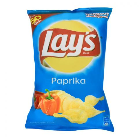 Lay's Paprika Potato Chips, 65g