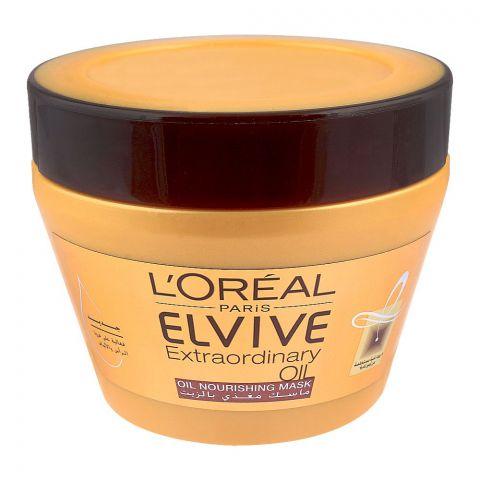 L'Oreal Paris Elvive Extraordinary Oil Nourishing Hair Mask, 300ml
