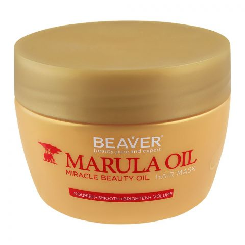 Beaver Marula Oil Miracle Beauty Oil Hair Mask, 250ml