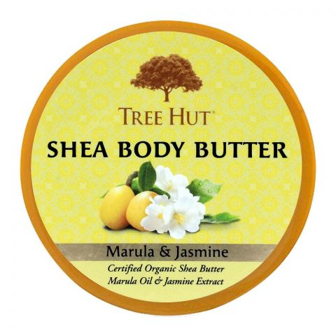Tree Hut Marula & Jasmine Shea Body Butter, 198g
