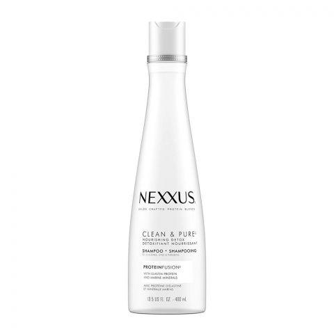 Nexxus Clean & Pure Nourishing Detox Shampoo, 400ml