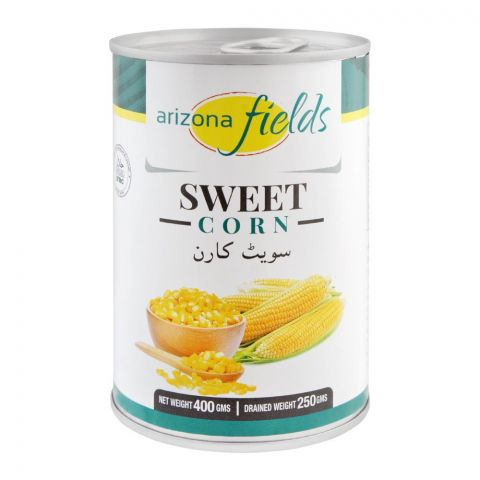 Arizona Fields Sweet Corn, Tin, 400g