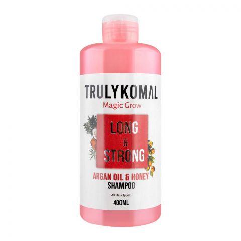 Truly Komal MagicGrow Long & Strong Argan Oil & Honey Shampoo, 400ml