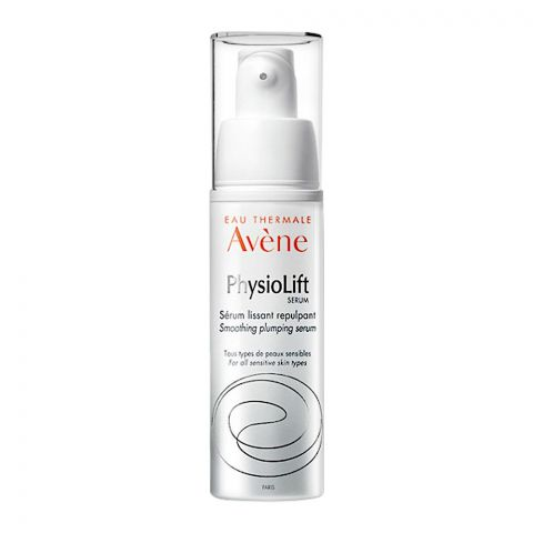 Avene PhysioLift Smoothing Plumping Serum, For All Sensitive Skin Types, 30ml