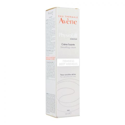 Avene PhysioLift Jour/Day Firmness Deep Wrinkles Smoothing Cream, For Sensitive Dry Skin, 30ml