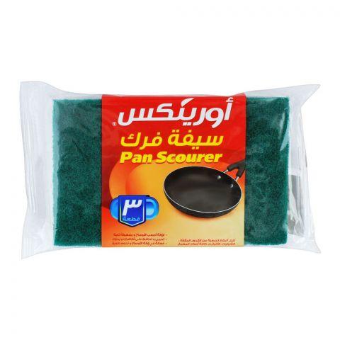 Orinex Pan Scourer, 3-Pack