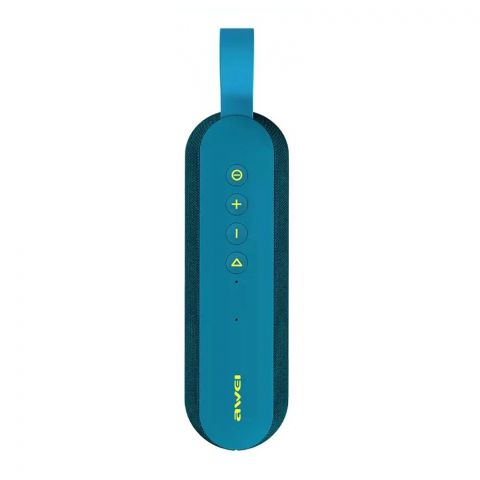 Awei Portable Outdoor Wireless Speakers, Blue, Y230