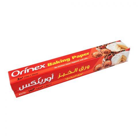 Orinex Baking Paper, 3m2, 10m x 30cm