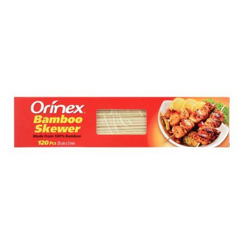 Orinex Bamboo Skewer, 120-pack, 25cm x 3mm