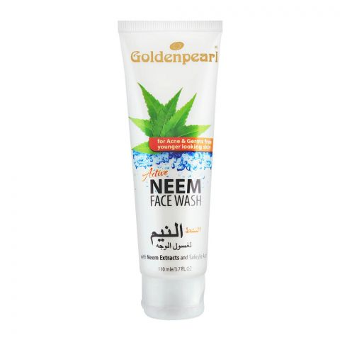Golden Pearl Active Neem Face Wash, 110ml