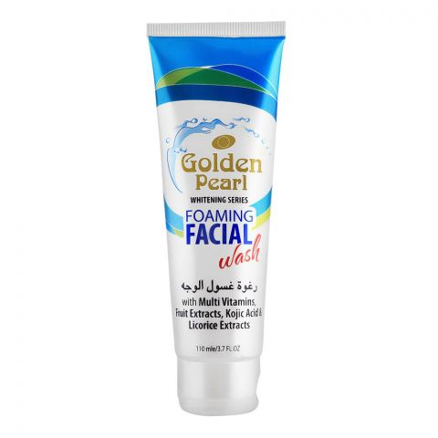 Golden Pearl Whitening Series Foaming Facial Wash, 110ml