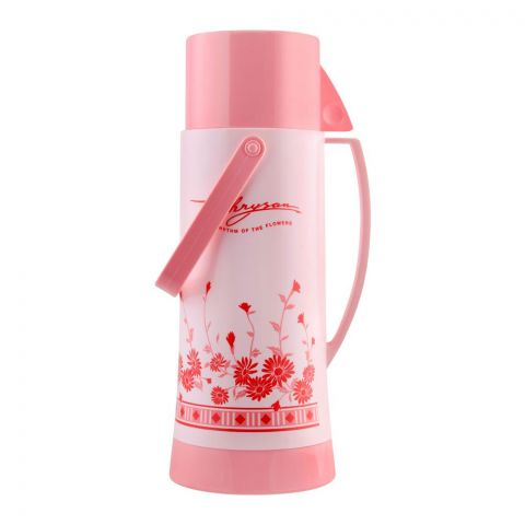 Lion Star Vacuum Flask Bottle, With Bell Handle, Pink, 450ml, BT-4