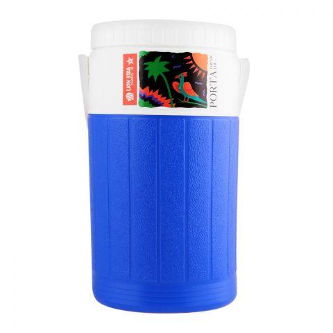Lion Star Porta Drink Jar Thermos, Blue, 2 Liters, D-24