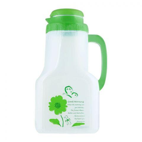 Lion Star Saloon Water Bottle, Green, 2 Liters, DS-1