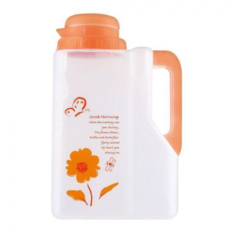 Lion Star Saloon Water Bottle, Orange, 2.5 Liters, DS-2