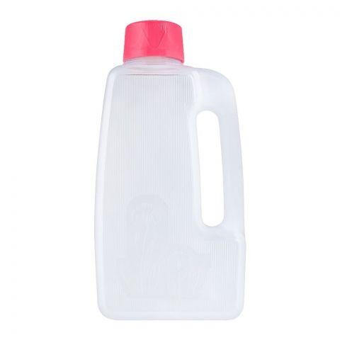 Lion Star Flower Water Bottle, Pink, 2 Liters, F-1